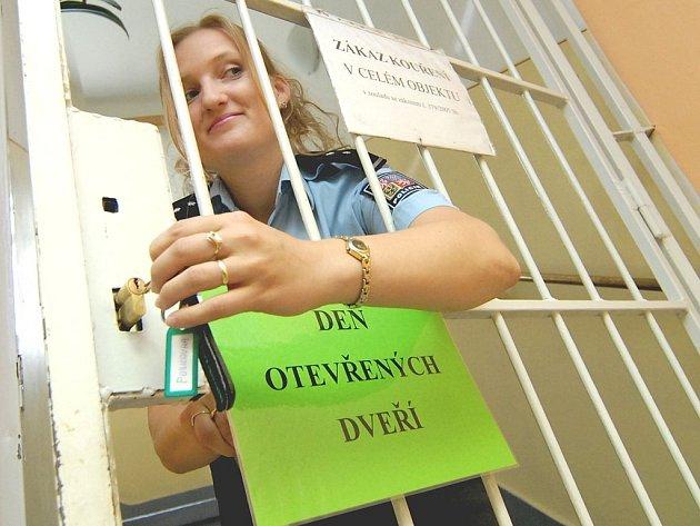 Den s policií. policistka Jana Havlíková.