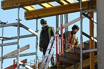 Stavební výstavba je v poklesu