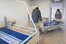 Modelový pokoj přispěje k doladění pokojů v krajském Centru urgentní medicíny. To počítá se 132 standardními dvoulůžkovými pokoji a se 60 intenzivními lůžky pro ARO a JIP.