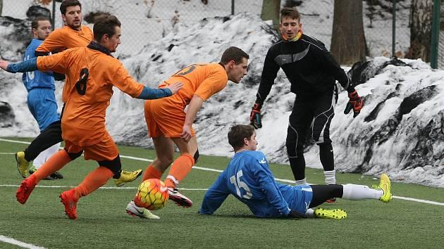 Fotbaloví ostrostřelci z VTJ Rapid a Doubí