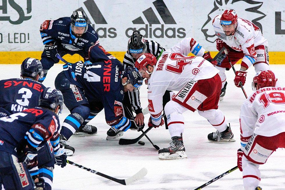 4. zápas finále Bílí Tygři Liberec – HC Oceláři Třinec