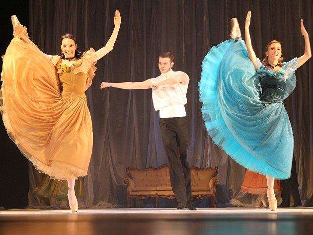 Další úchvatná celovečerní inscenace se povedla baletnímu souboru libereckého Divadla F. X. Šaldy.