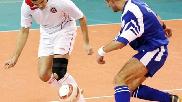 Futsal Andy v akci. Ilustrační foto.