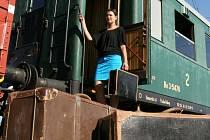 Z Prahy vyjel vlak v pátek 13. července.