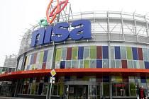 Obchodní centrum Nisa v Liberci.