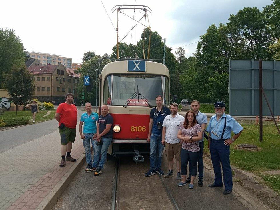 Historické tramvaje vyrazily do provozu.