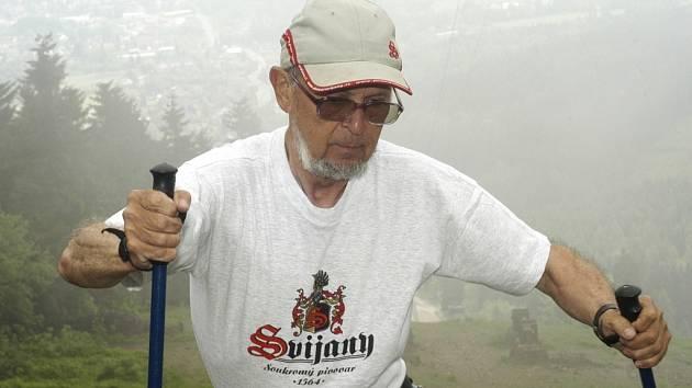 Jiří Mánek alias Ještědman.