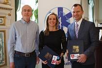 Zdravotnická záchranná služba ocenila profesionály i občany za spolupráci a pomoc v uplynulém roce.