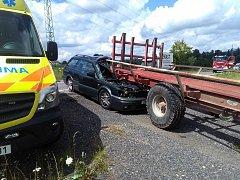 Smrtí třicetiletého řidiče skončila pondělní nehoda na silnici u obce Postřelná nedaleko Jablonného.