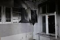 Požár plynového kotle likvidovali hasiči v Liberci.