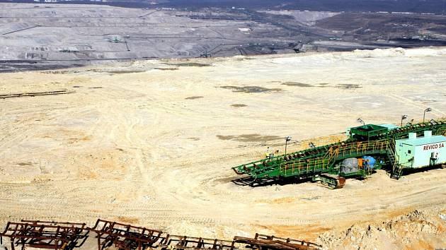 TURÓW. Elektrárna a důl v těsném sousedství hranic.