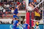 Liberečtí volejbalisté nestačili v semifinále Českého poháru na Kladno.