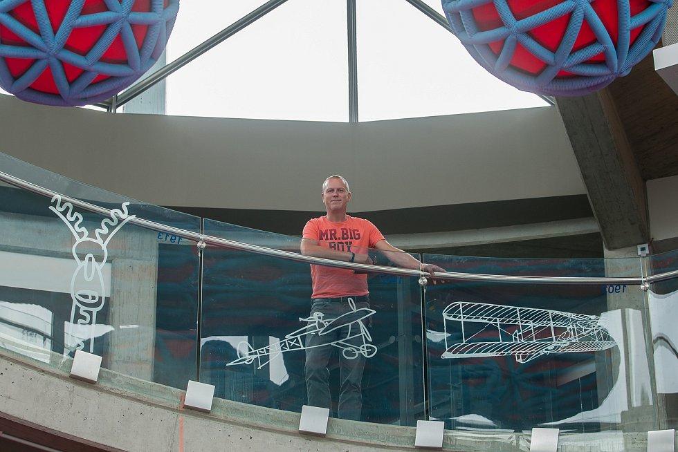 Ředitel liberecké iQLandie Pavel Coufal na snímku z 18. července.