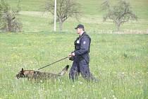 PRESTIŽNÍ SOUTĚŽ krajský přebor psovodů a policejních psů probíhala letos již pátým rokem.
