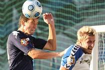 Mistrovské utkání ve fotbale l.Gambrinus ligy mezi FC Slovan Liberec a 1.FC Slovácko.