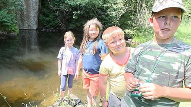 Letní dětský tábor. Ilustrační foto.
