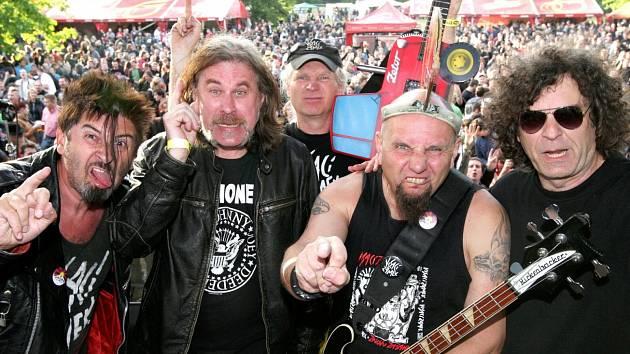 VISACÍ ZÁMEK na festivalu v květnu 2012.