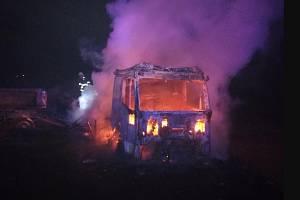 K požárům dopravních prostředků vyjíždějí hasiči v Libereckém kraji pravidelně.