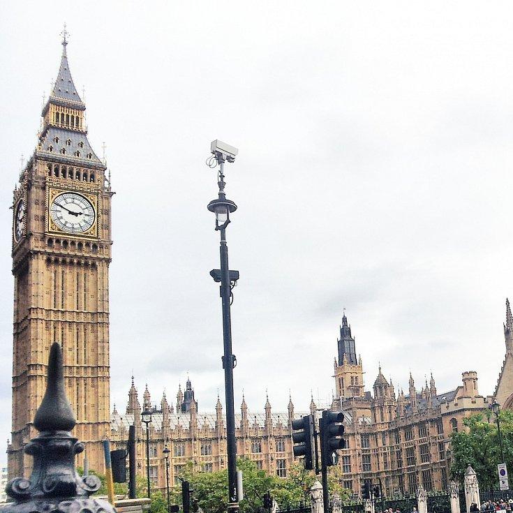 Londýn. Big Ben