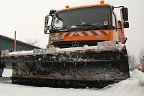 Se sněhem si v Liberci poradí stovka strojů.
