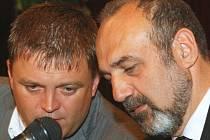 Krajský mítink členů ČSSD proběhl v Liberci za účasti místních politických špiček. R.Dušek, M.Kraus.