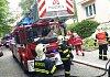 V Liberci hořelo v bytě. Hasiči požár zlikvidovali
