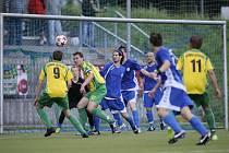 Ze zápasu Frýdlantu a Doubí. Il. foto.