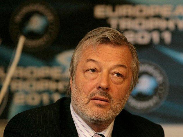 Generální manažer Bílých tygrů Liberec Ctibor Jech.