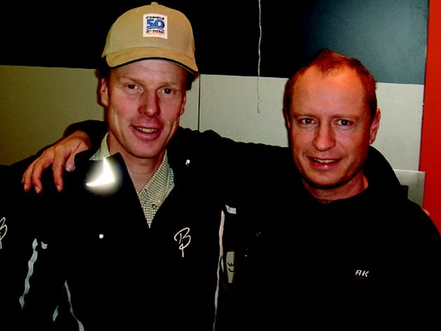 Radim Nyč (vpravo) vedle Bjørna Dæhlieho.