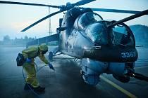 Prvotní odmoření vrtulníku