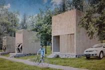 NÁVRH nových chatek v kempu od architektů City Upgrade.