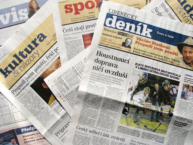 Liberecký deník. Ilustrační foto