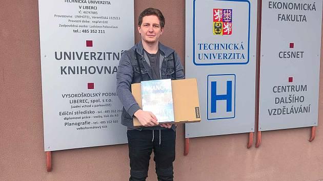 Jaroslav Kesler získal první místo v soutěži Studentbroker. Bodoval v kategorii Akcie.