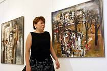 Oblastní galerie v Liberci vystavuje až do 20. září obrazy maloskalského malíře Josefa Jíry a dokumenty z výstavy v roce 1969 Socha a město.