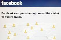 Facebook, sociální web.