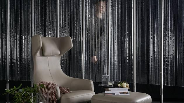 Stěna Curtain.