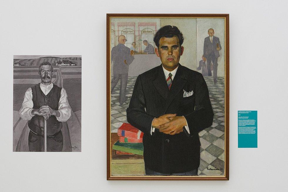 V Oblastní galerii v Liberci začala výstava slezského malíře Paula Gebauera.