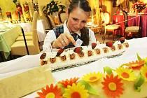 V prostorách Střední školy gastronomie a služeb na Králově háji v Liberci prezentovali studenti a učňové své dovednosti na tak zvaném Gastrodnu. Celá akce se nesla v duchu staročeské a moravské kuchyně.