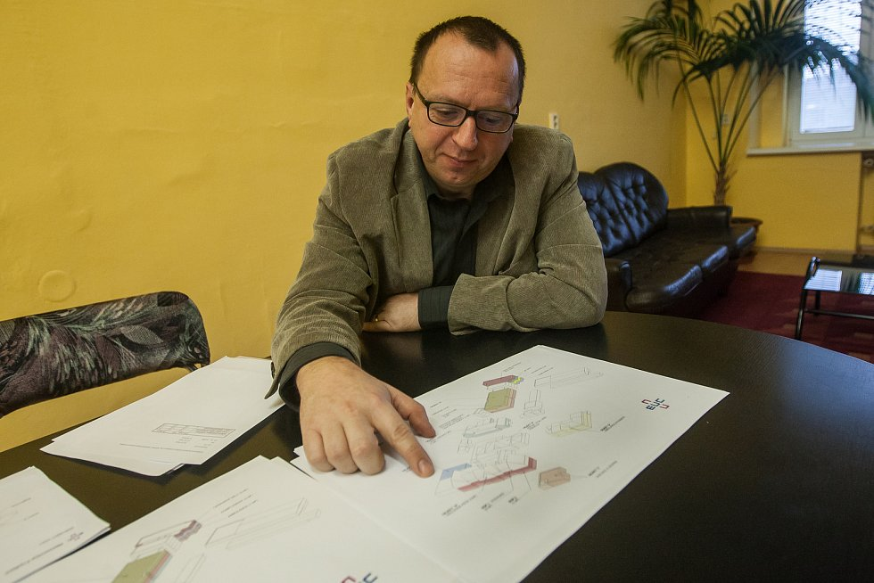 Jan Rais, ředitel nemocnice ve Frýdlantu.
