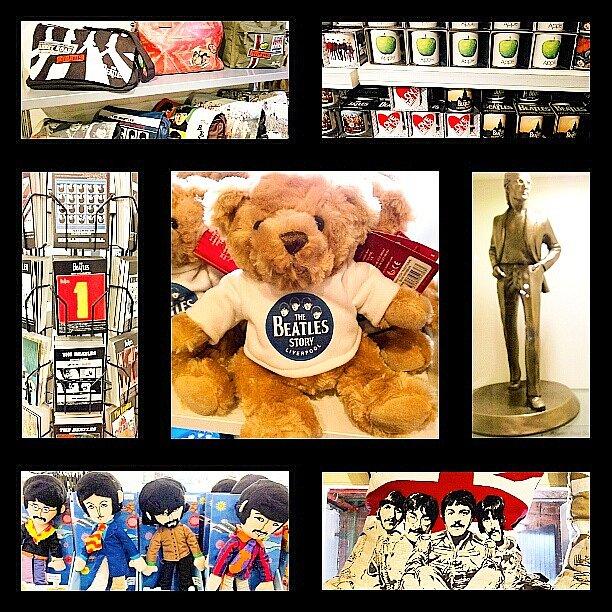 Beatles obchod s upomínkovými předměty