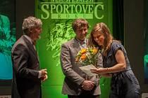 Vyhlášení ankety Nejúspěšnější sportovec Libereckého kraje za rok 2016 proběhlo 4. dubna v libereckém Divadle F. X. Šaldy. Na snímku Eva Samková.
