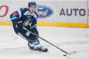 Utkání 39. kola Tipsport extraligy ledního hokeje se odehrálo 12. ledna v liberecké Home Credit areně. Utkaly se celky Bílí Tygři Liberec a HC Vítkovice Ridera. Na snímku je Ladislav Šmíd.