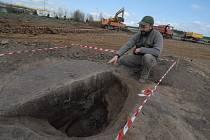 Archeologické naleziště v Příšovicích na Liberecku. Nalezeny 6 500 let staré úlomky.