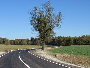 Nová silnice z Raspenavy