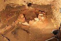 PĚT SET LET STAROU CHLEBOVOU PEC objevili archeologové letos vlednu při výzkumu základů budoucího muzea.