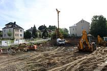 Stavba Alzheimer centra v Turnově pokračuje.