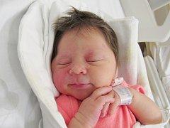 AMÁLIE TOMÁŠKOVÁ Narodila se 18. září v liberecké porodnici mamince Heleně Malčíkové z Liberce. Vážila 3,20 kg a měřila 50 cm.