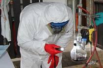 Toxi tým zasahoval na Liberecku, odhalil výrobce pervitinu