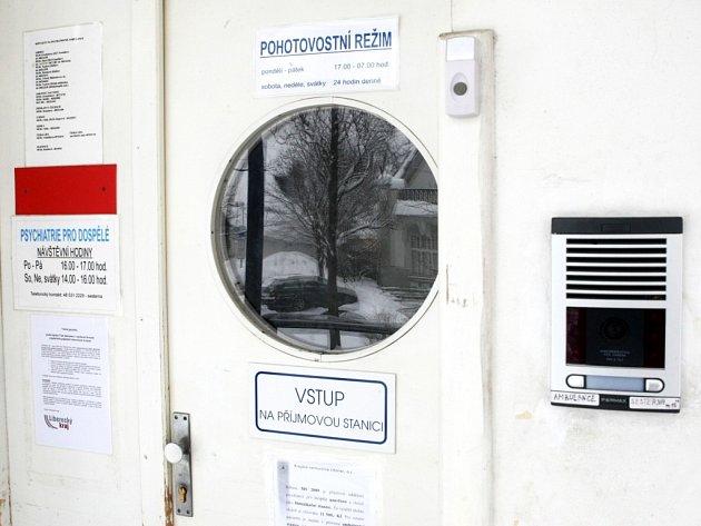 Dočasnou záchytnou stanici pro opilce zřídili v Krajské nemocnici v Liberci v pavilonu psychiatrie.