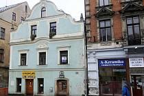 Dům Zlatý beránek v Liberci.